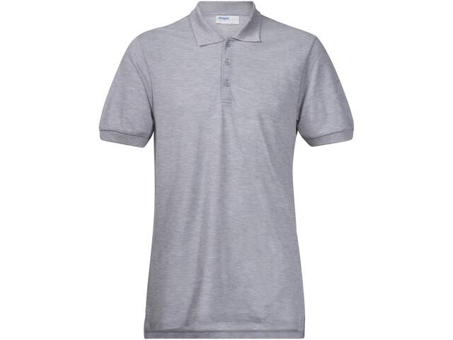 Bergans Valmue Piquè Shirt Men grey mel